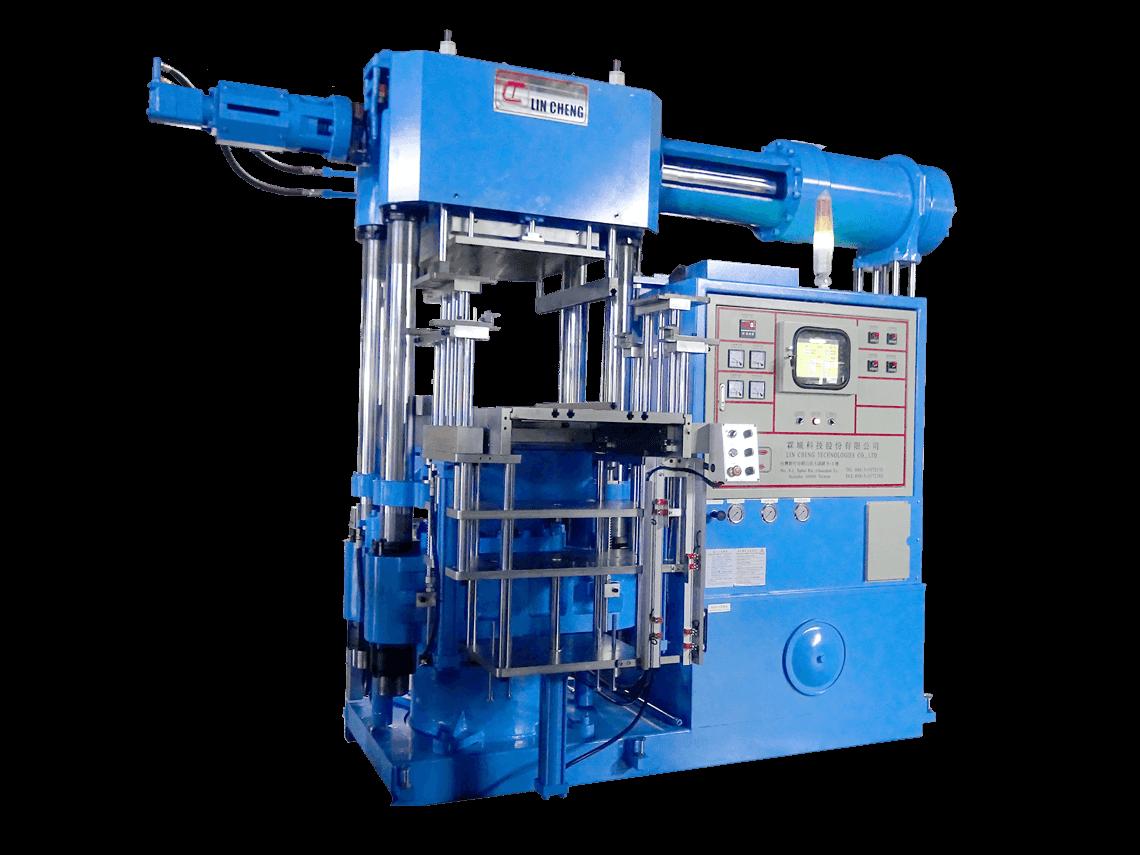 3RT Mold-Open Rubber Injection Molding Machine | Lin Cheng Technologies