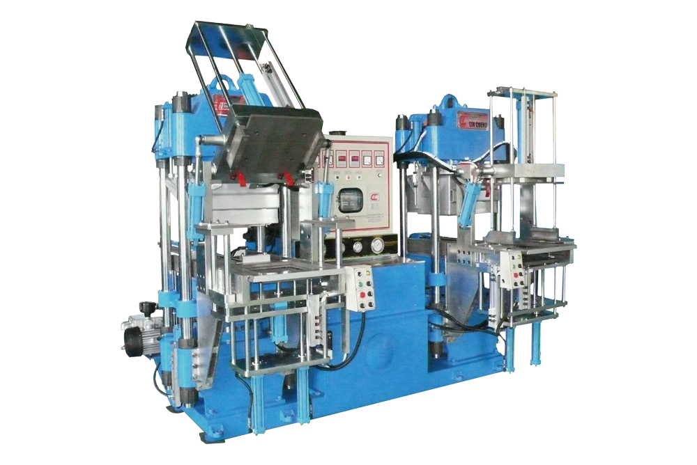 4RT Mold-Open Oil-Seal Vacuum Compression Molding Machine